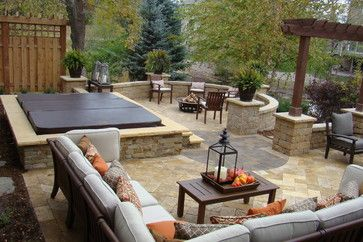 Superior In Ground Hot Tub Design Ideas, Pictures, Remodel, And Decor   Page 2 |  Garden Water Feature | Pinterest | Hot Tubs And Tubs