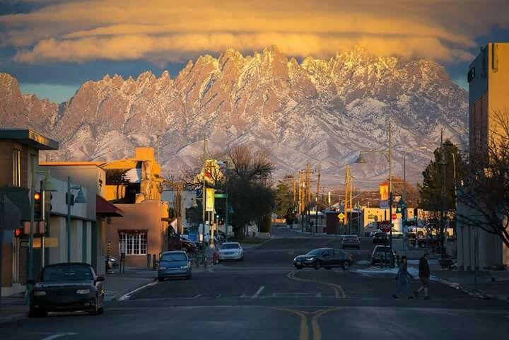 Las Cruces, New Mexico USA...