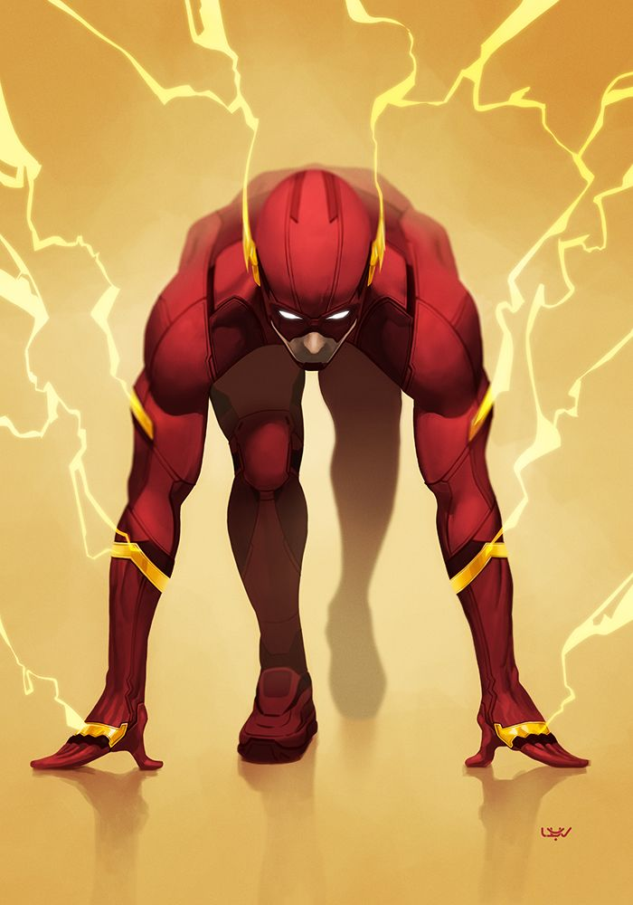 The Flash by Yvanquinet.
