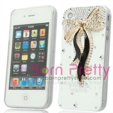 I find an excellent product on @BornPrettyStore, Crystal Rhinestones Bowknot White Hard Case C... at $9.63. http://www.bornprettystore.com/-p-3492.html