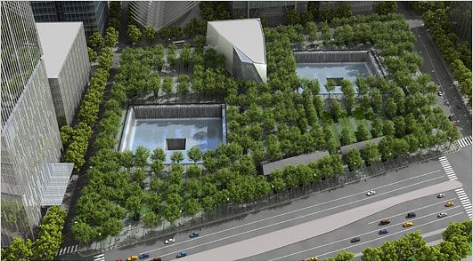 Looking forward to experiencing the Ground Zero Memorial in person.  It's going to be a heavy experience, that's for sure.  But the memorial concept and design is beautiful.