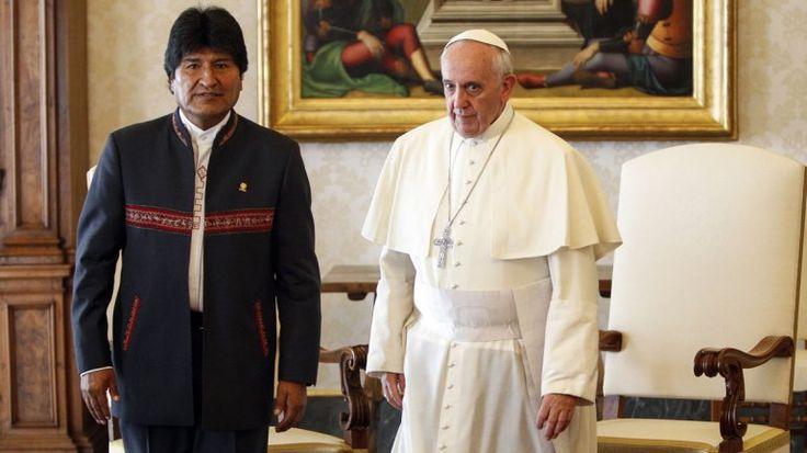 Evo Morales anuncia viaje al Vaticano en medio de la pelea con obispos bolivianos | Radio Panamericana