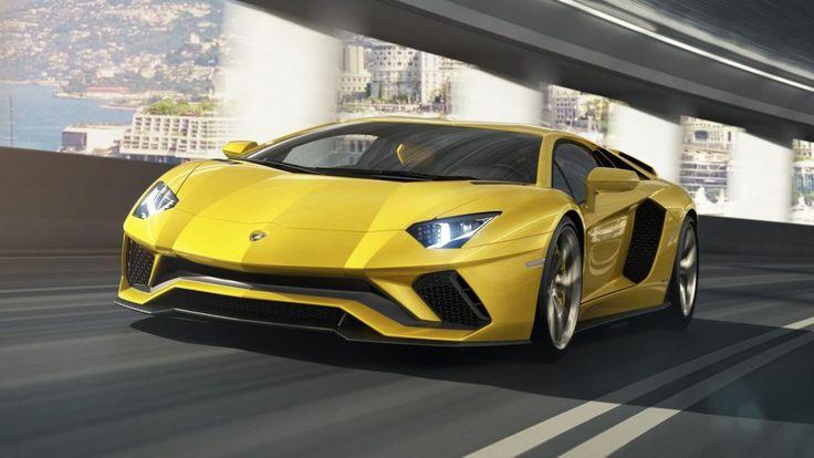 This is the 2017 Lamborghini Aventador S - ResCars