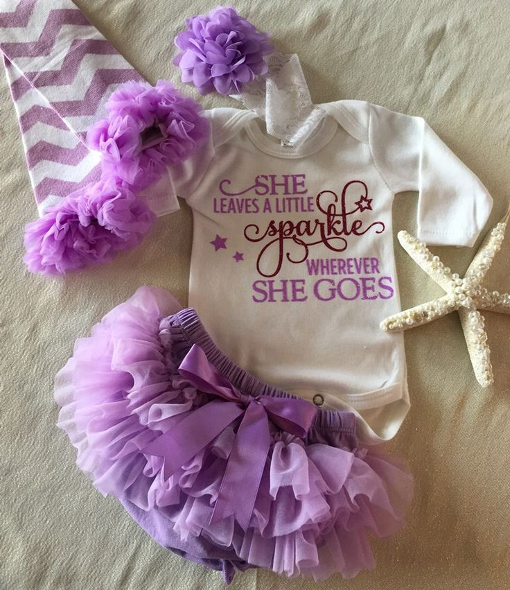 Newborn Girl Coming Home Outfit, Baby Girl Outfit, Girl Baby Shower, Baby Girl Outfit/Lavender, Infant Girl Gift/Purple by KeepsakeKonnections on Etsy https://www.etsy.com/listing/227549786/newborn-girl-coming-home-outfit-baby