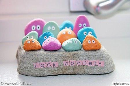 pyssel-pyssla-barn-barnpyssel-stenar-sten-inspiration-handarbete-hantverk-roligt-färger-figurer-måla