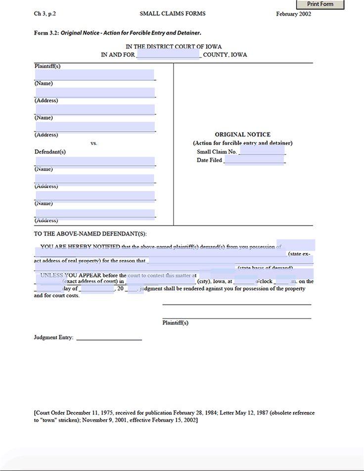 United Kingdom Landlord Tenant Law   eviction notice sample ... - eviction form