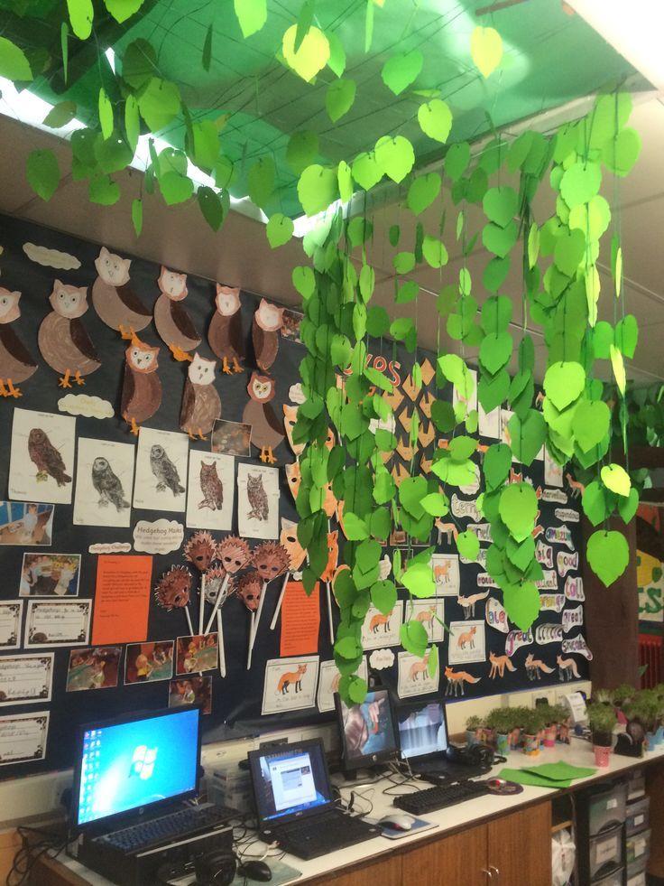 Classroom Theme Ideas Cafe ~ Forest classroom fantastic mr fox s topic