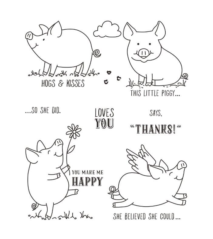 Find More Stamps Information about  Lovely pig Transparent Clear Silicone Stamp/seal for DIY Scrapbooking/photo Album Decorative Clear Stamp Sheets,High Quality Stamps from The other side of the house on Aliexpress.com