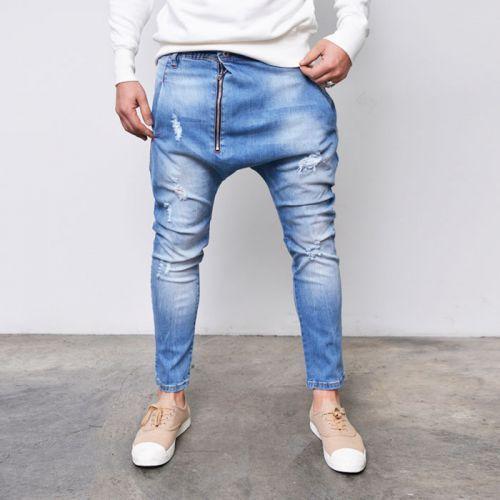 Oversized Zip Span Denim Baggy Jeans 283 via SNEAKERJEANS STREETWEAR SHOP