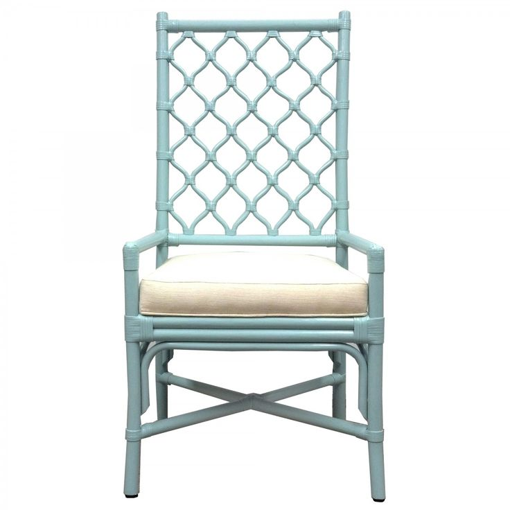 Selamat Ambrose Arm Chair - Blue | Dining Chairs & Benches | Dining Room | Furniture | Candelabra, Inc.