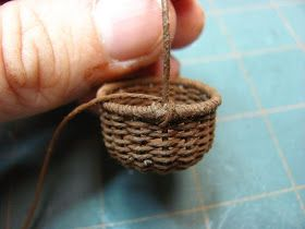 This tutorial came about when I was asked about the thread I used when I made the watering can. It's crochet thread, Coats & Clark, Cl...