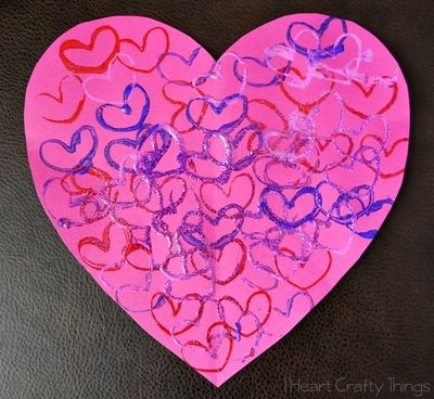 1000 images about valentines day crafts for kids on for Easy heart crafts