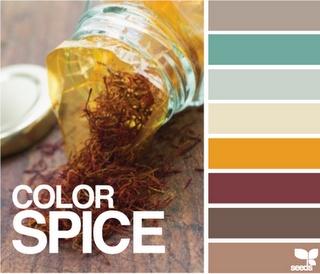 chaleureux appétissant champêtre: LOVE this color palette