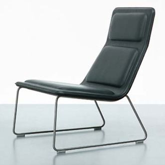 'Low Pad Chair' Lounge Chair, Designed by Jasper Morrison for Cappellini