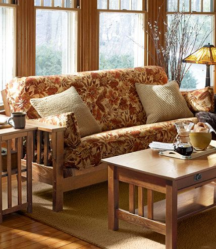 For The Loft Mission Futon Futons At L Bean Style Pinterest Mattress Furniture And Chair