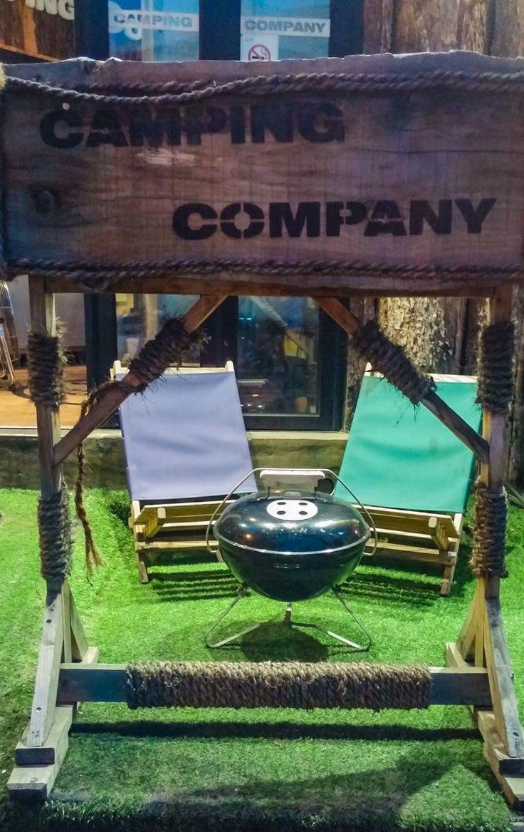 Camping Company in Itaewon, Seoul gives you the atmosphere of a campfire meal without the clean up! Enjoy great KBBQ while lounging in a camp chair!