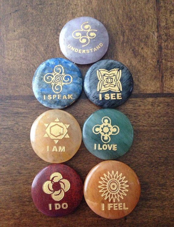 how to use reiki stone set
