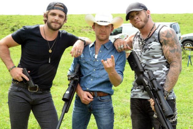 7 Bad*** Ways Brantley Gilbert Exercises His Second Amendment