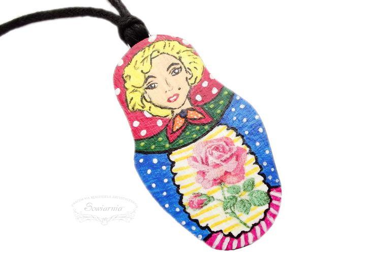 Marilyn Monroe matryoshka pendant :)
