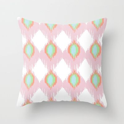 Ikat Gelato  Throw Pillow by Neri Han - $20.00