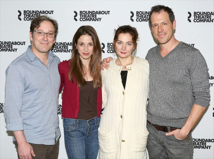Marin Hinkle Sommer and her Husband Randall Sommer and ...