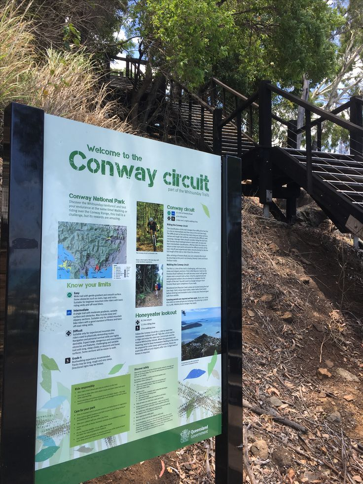 Conway track, Airlie Beach