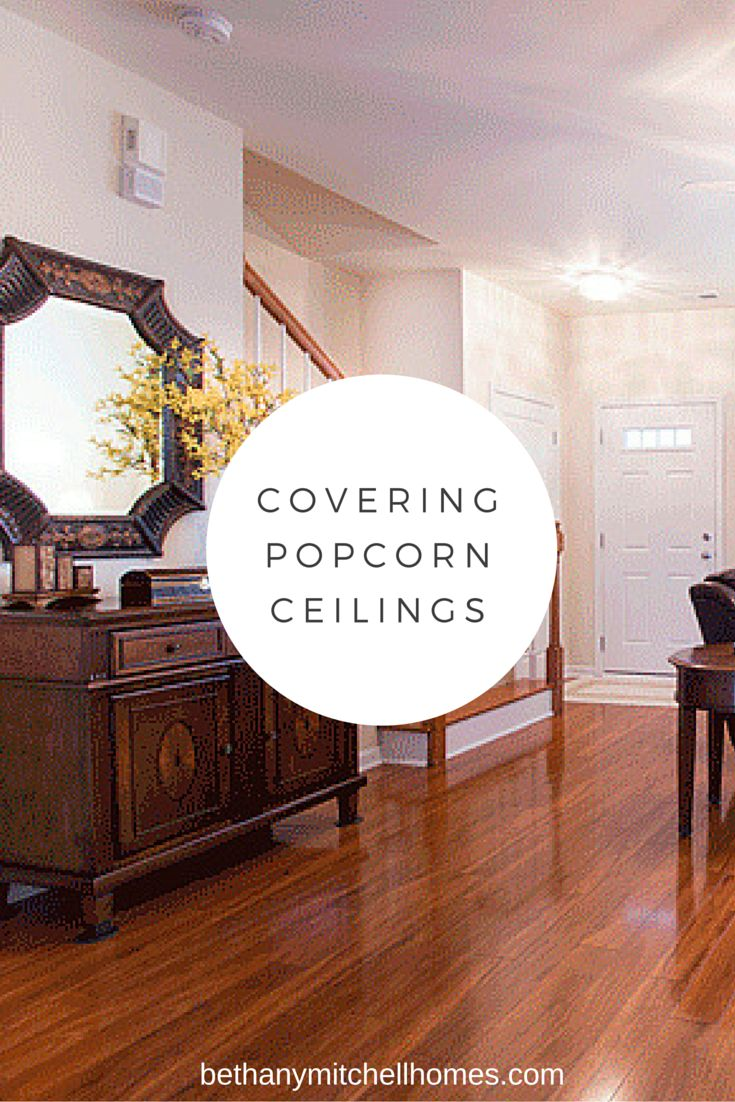 Covering Popcorn Ceilings  Crafts  Covering popcorn ceiling Popcorn ceiling Plank ceiling