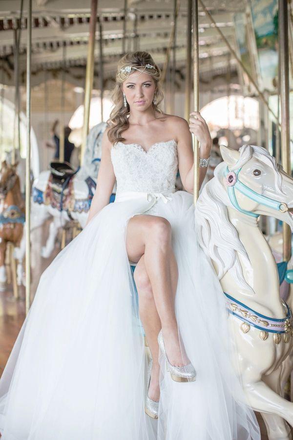 Carousel Wedding Ideas http://www.weddingchicks.com/2013/12/03/carousel-wedding-ideas/