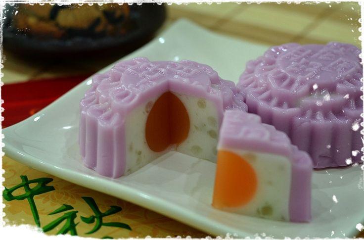 Yam Jelly Cake Recipe