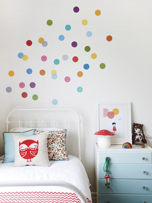 Kids room dot decals