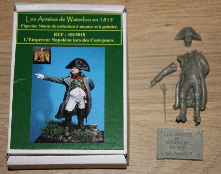 LES ARMEES DE WATERLOO-1815-NAPOLEON-WATERLOO-54 mm-HISTOREx -EMPIRE