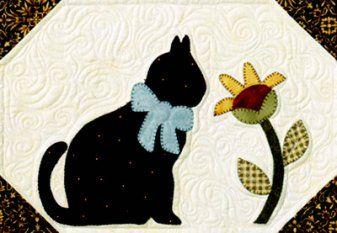 Quilt Pattern - cat