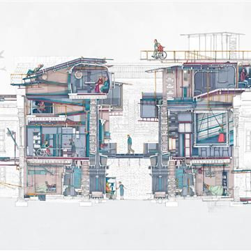 Best Architectural Drawings Ideas On Pinterest Interior