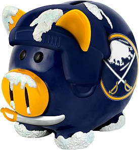 Sabres Thematic Piggy Bank- I know a few people who would love this