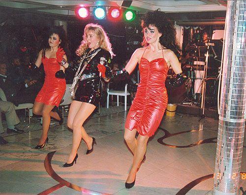 Armi ja Big Bad Girls Finnjetillä 1986.