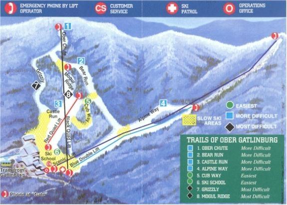 The 25 best gatlinburg map ideas on pinterest for Cabins near ober ski resort gatlinburg tn