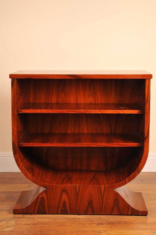Art Deco Bookcase Shelf Rosewood