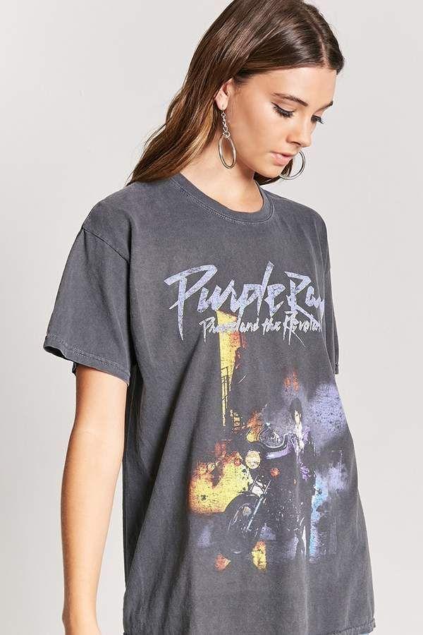 e5b82fff10e Forever 21 Prince and the Revolution Band Tee #ad | Pinterest Mini ...