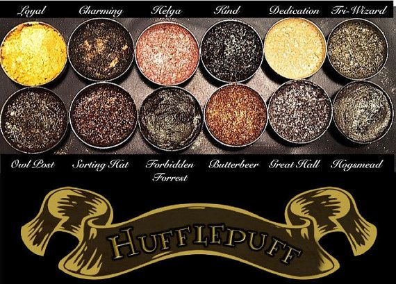 PRE-ORDER Hufflepuff House Eyeshadow Palette by AWhimsicalWillow