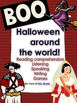 Halloween Around the World {literacy activities for ESL &
