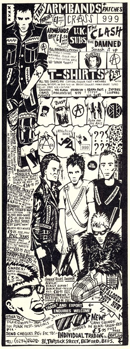 Mail Order Punk 1980 - heavy on crass, ants, subs, two tone etc.