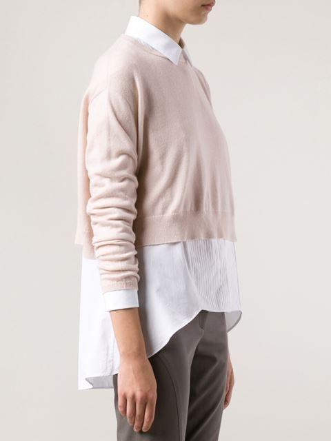 Brunello Cucinelli Cropped Sweater - Spinnaker 141 - Farfetch.com