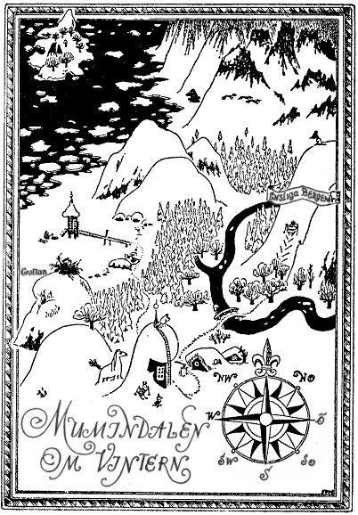 Mumindalen on vintern by Tove Jansson