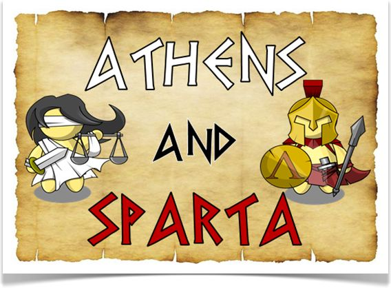 athens and spartans Sparta and athens were both greek city states that dominated ancient greece during the fifth century bce each city state had at least a partially elected government.