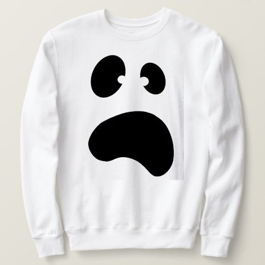 Ghost Dolman Halloween Custom Sweatshirts