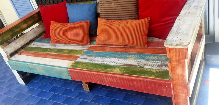 Aztec Daybed La Lucie Recycled