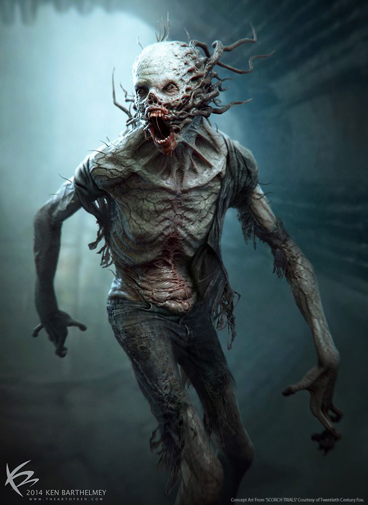 The Scorch Trials - Creature Designs on Behance