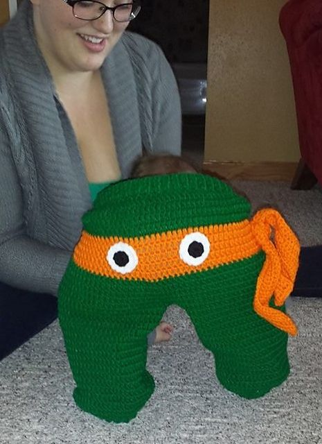 Ravelry: Crazy Character Pants/ Monster Pants by Upper Crust Crochet