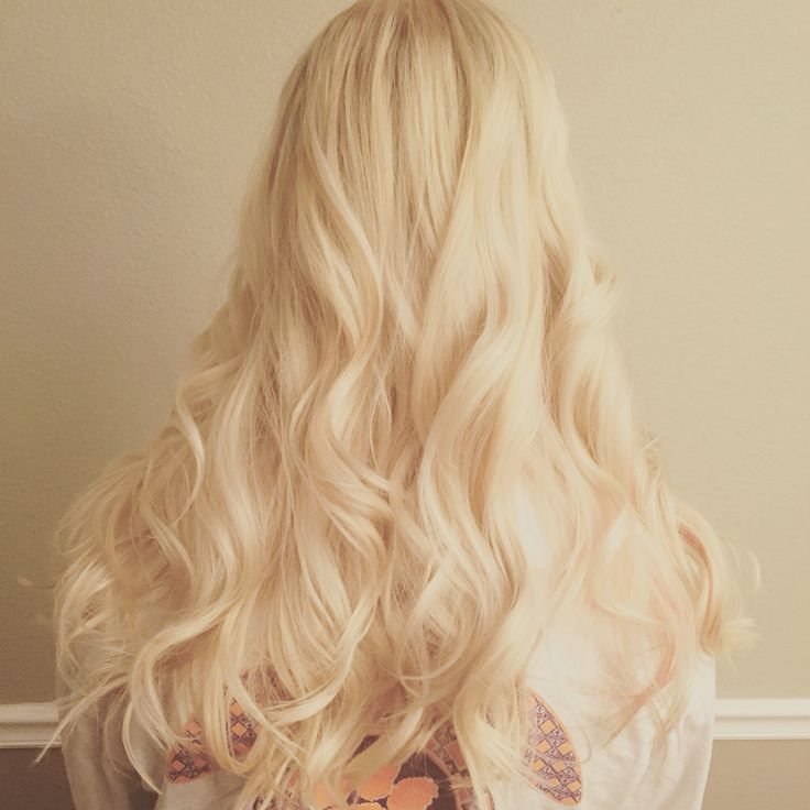 Long blonde hair by bam_glam!