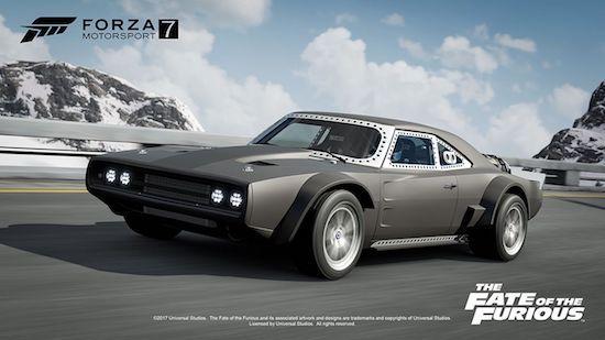 Speel Forza 7 met auto's uit Fast & Furious 8
